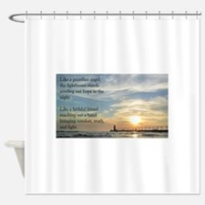 Lighthouse, friend Shower Curtain