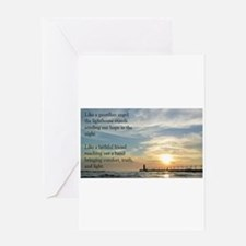 Lighthouse, friend Greeting Cards