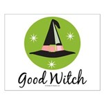 Witches Hat Good Witch Small Poster