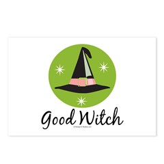 Witches Hat Good Witch Postcards (Package of 8)