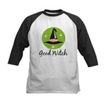 Witches Hat Good Witch Kids Baseball Jersey