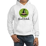 Witches Hat Good Witch Hooded Sweatshirt