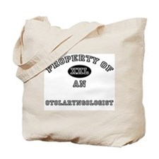Property of an Otolaryngologist Tote Bag