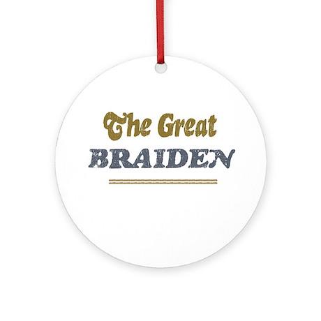Braiden Ornament (Round)