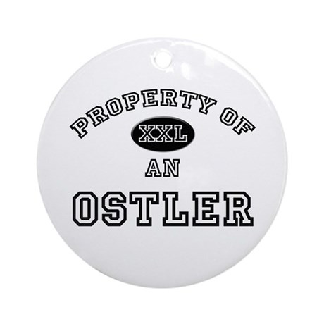 Property of an Ostler Ornament (Round)