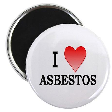 """""""I Heart Asbestos"""" Magnet"""