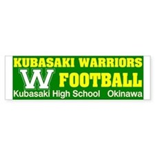 KHS Warriors Bumper Bumper Sticker