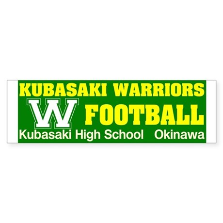 KHS Warriors Bumper Sticker