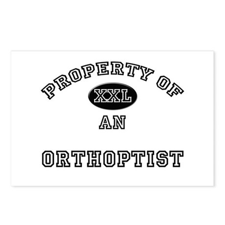 Property of an Orthoptist Postcards (Package of 8)