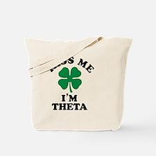 Funny Theta Tote Bag