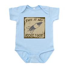My Rocket T-Shirt Infant Bodysuit