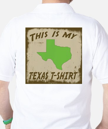 My Texas T-Shirt Golf Shirt
