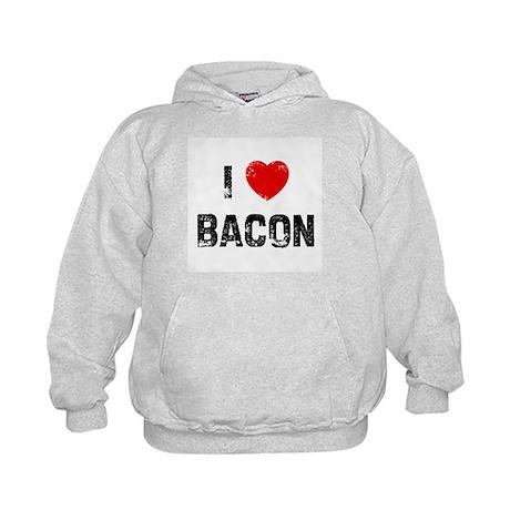 I * Bacon Kids Hoodie