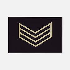 Sergeant Chevrons<BR> Rectangle Magnet