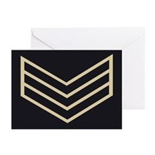 Sergeant Chevrons<BR> Note Cards