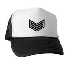 Sergeant Chevrons<BR> Panel Cap