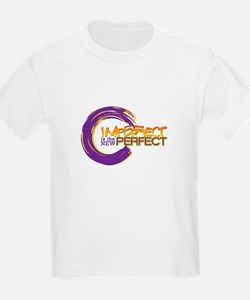 purple and gold imperfect is the new perfect T-Shi