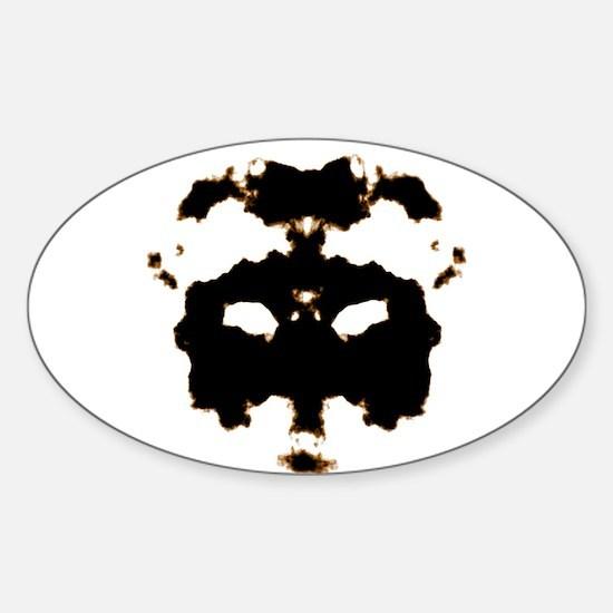 Rorschach Test Decal