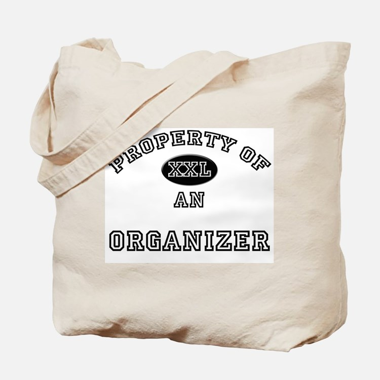 Property of an Organizer Tote Bag