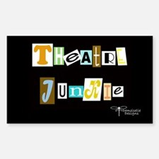 Theatre Junkie Decal
