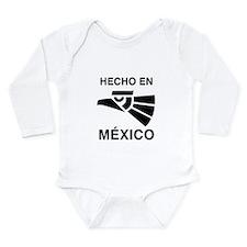 Hecho en Mexico Long Sleeve Infant Bodysuit