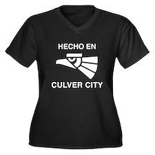 Hecho en Culver City Women's Plus Size V-Neck Dark