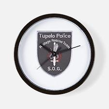 Tupelo Police S.O.G. Wall Clock