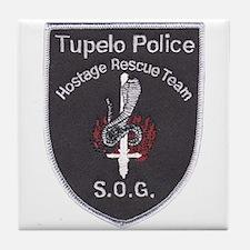 Tupelo Police S.O.G. Tile Coaster