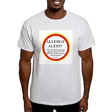 Cute Allergy alert T-Shirt