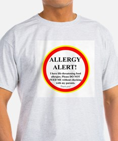 Cute Peanut tree nut allergy T-Shirt