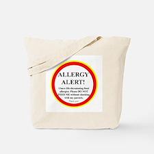 Cute Food allergies Tote Bag