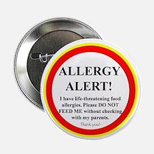 Food Allergy Alert Button (10 pack)
