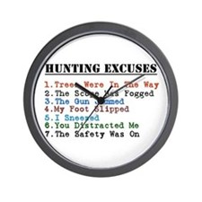 Funny Outdoor sports Wall Clock