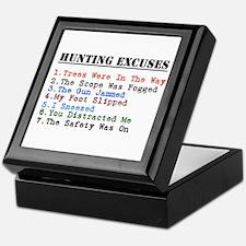 Cute Hunting humor Keepsake Box