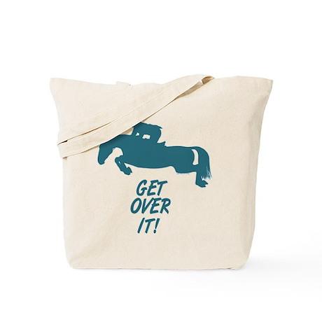 Get Over It Hunter Jumper Horse Tote Bag