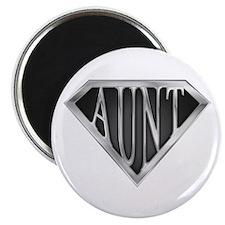 SuperAunt(metal) Magnet