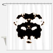 Rorschach Test Shower Curtain