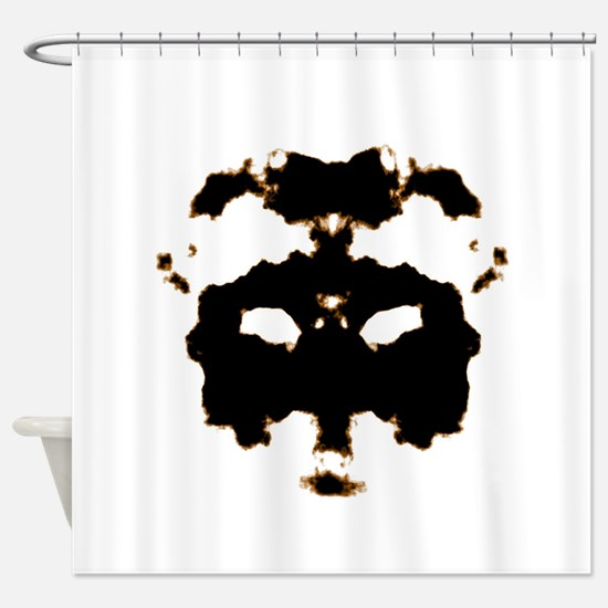 Rorschach Test Shower Curtain