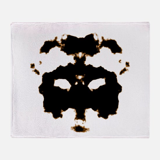 Rorschach Test Throw Blanket