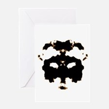 Rorschach Test Greeting Cards