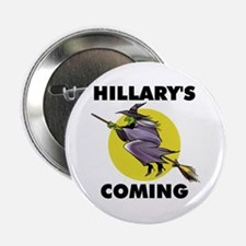 HILLARY WITCH Button