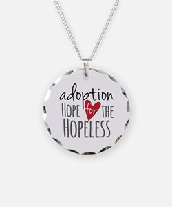 Unique Adopted daughter Necklace