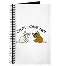 Cats Love Me Journal