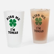 Funny Tomas Drinking Glass