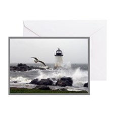 """Beautiful Lighthouses"" Greeting Card"