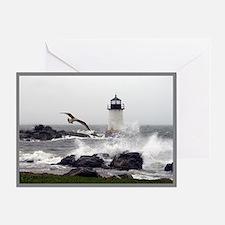 """Beautiful Lighthouses"" Greeting Card"