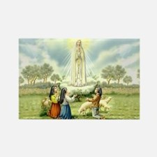 Our Lady of Fatima Rectangle Magnet (10 pack)