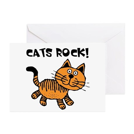 Cats Make Me Happy Greeting Cards (Pk of 20)