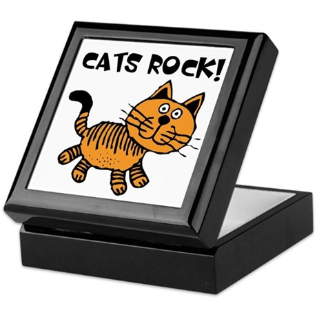 Cats Make Me Happy Keepsake Box