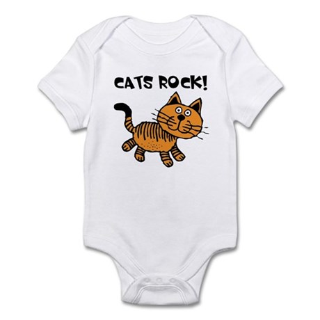 Cats Make Me Happy Infant Bodysuit